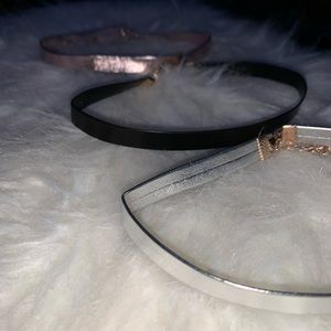 Forever 21 Choker Necklaces (3)